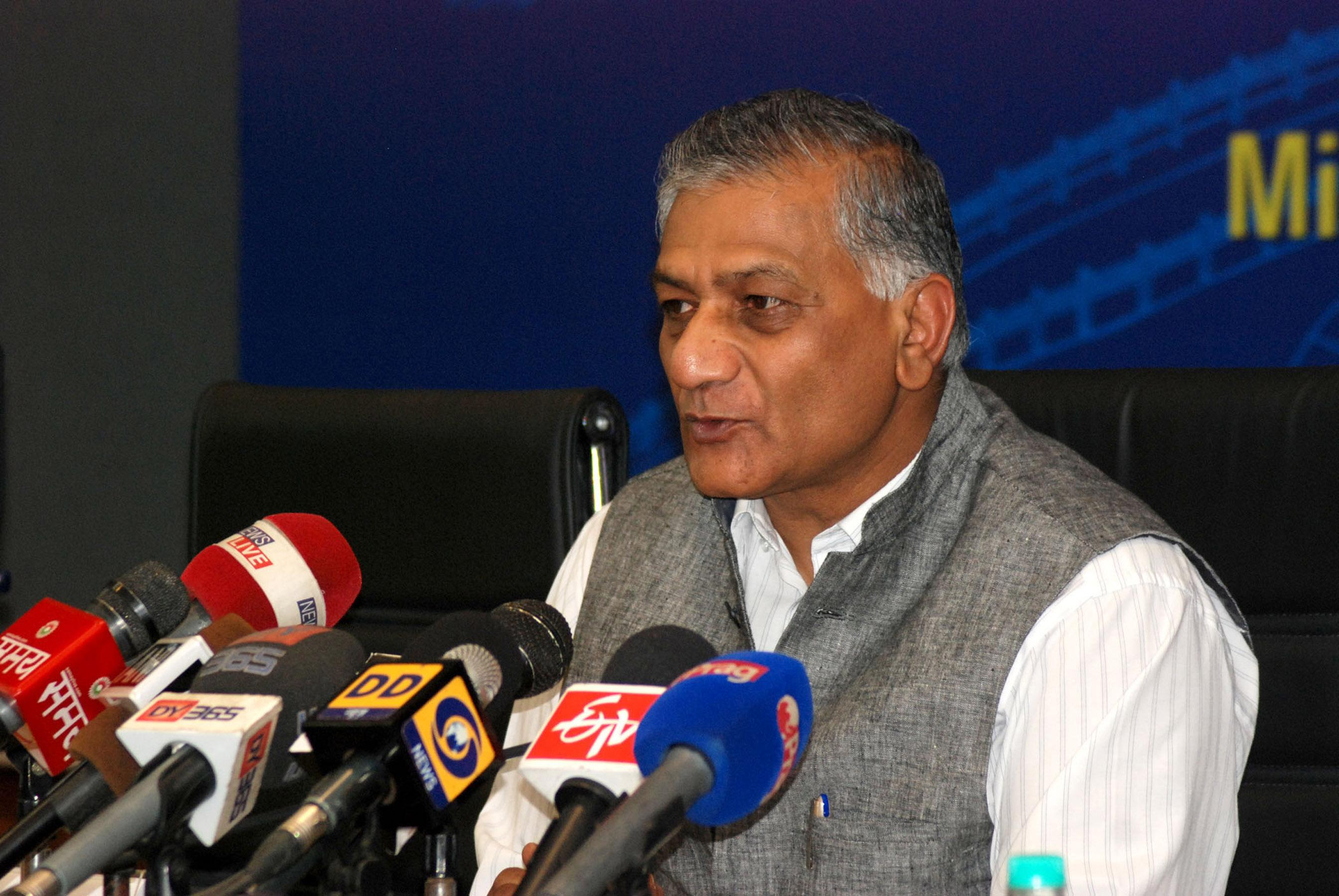 Union Minister Gen V.K. Singh leading by over 50K votes from Ghaziabad - newsonfloor.com