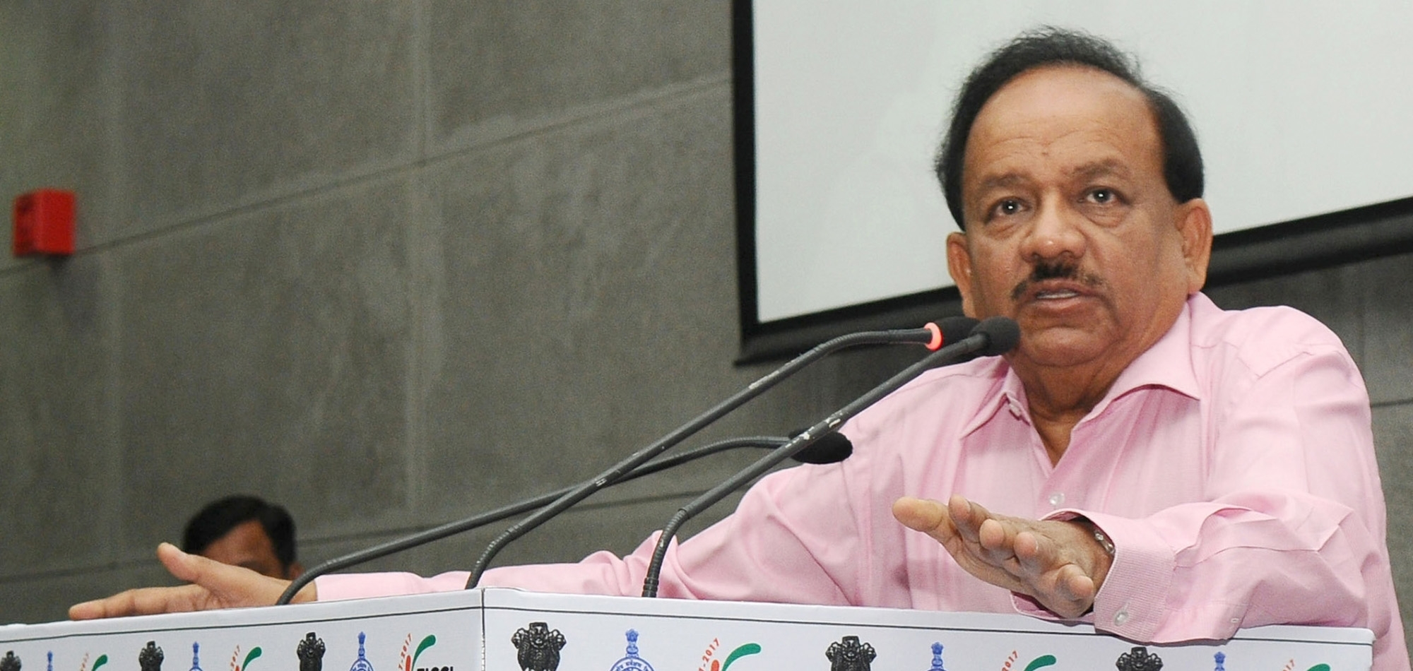 Vaccination big weapon in fight against Covid: Harsh Vardhan