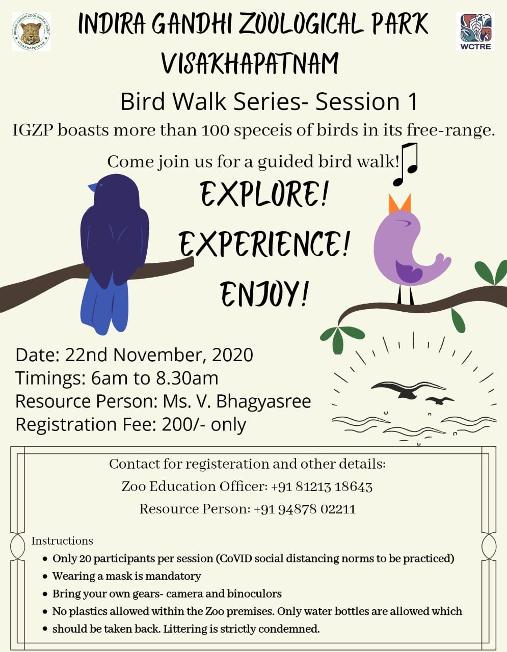 Vizag Zoo Schedules Bird Walk Series On Sunday Ind News Plastic traces in animal feed could pose a risk to human health and urgently need to be the subject of more research, experts have told the guardian. https ind news vizag zoo schedules bird walk series on sunday