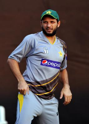 Afridi to miss charity match featuring World XI