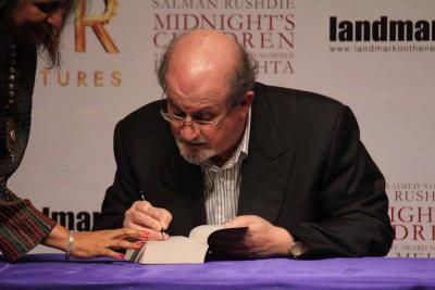 Rushdie's new novel inspired by Spanish 'Don Quixote'