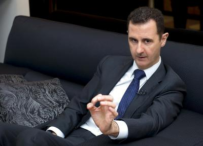 Assad says Syrian constitution not for bargaining