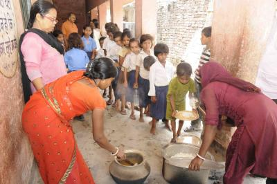UP school head suspended for asking students to ferry foodgrains