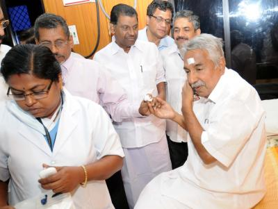 Party and people are with me, says Chandy reacting to solar scam fallout