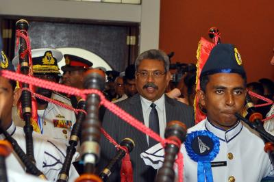 Lanka's presidential poll to see two contestants face off