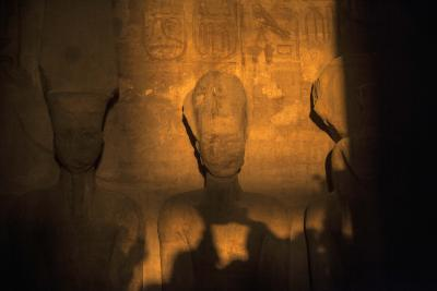 Rare solar alignment reaches inside Egyptian temple