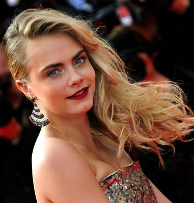 Cara Delevingne says she's the 'luckiest girl'