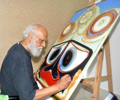Jatin Das to exhibit 500 portraits at Lalit Kala Akademi