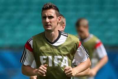 Ex-striker turned coach Klose says Germany have talent on bench