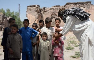 Afghanistan launches polio vaccination in high-risk districts