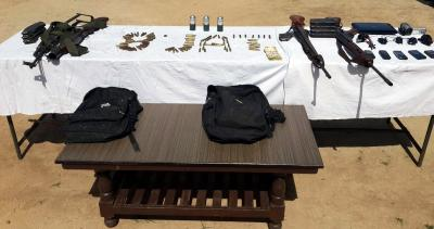 Large cache of arms and ammunition recovered in J&K's Rajouri