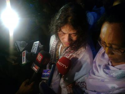 Irom Sharmila reaches Kerala on 45th birthday