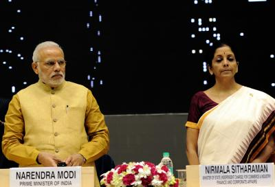 PM reviews economy with Sitharaman, officials