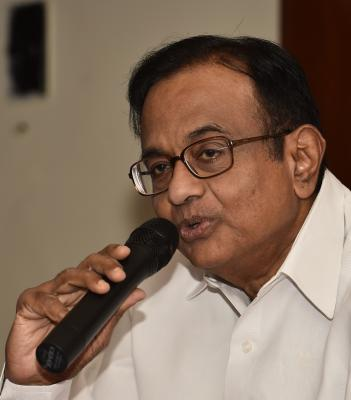 Chidambaram suggests DCCB move linked to Sena support