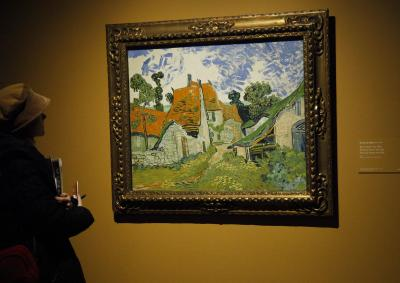Van Gogh landscape sells for $8mn at French auction