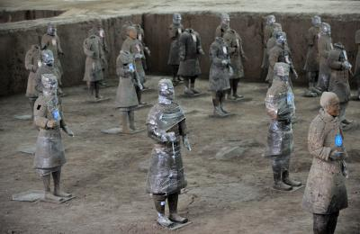 China to create 3D digital version of Terracotta Army