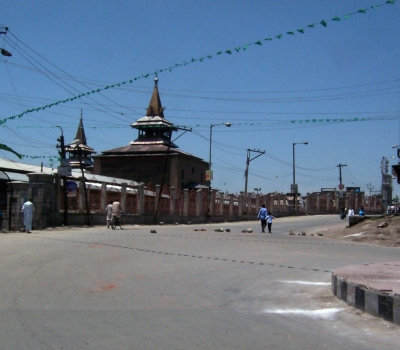 Authorities disallowed Friday prayer at Srinagar's Jamia Masjid