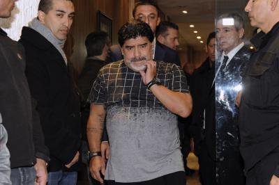 Maradona joins Napoli fans for 30th anniversary of 1st title