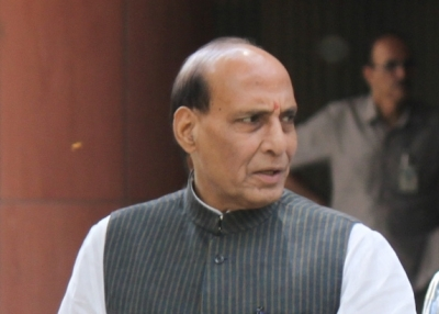 'Bharat ke Veer' website getting slow due to tremendous response from public: Rajnath