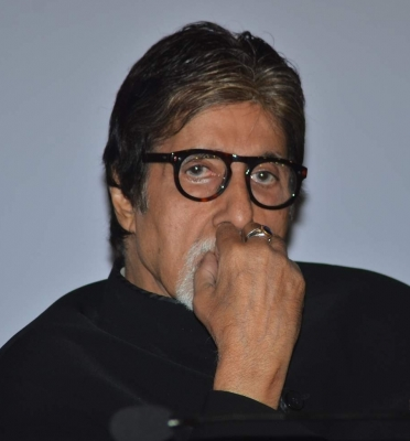 Big B relieved to be  finally away  from prosthetics