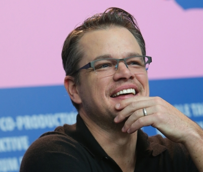 Matt Damon stepped on a python in Chris Hemsworth's home turf