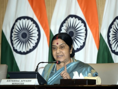 Sushma condoles death of Indian student in US