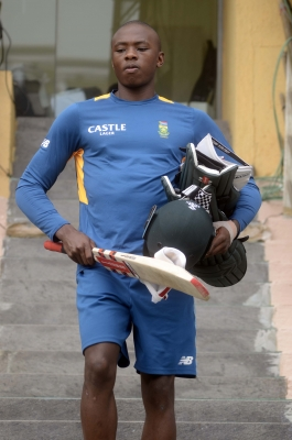 Pacer Rabada fined for breaching ICC Code of Conduct