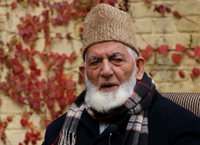 Geelani admitted to hospital