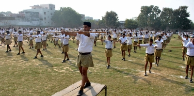 RSS works with men only in shakhas
