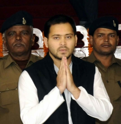 Tejashwi prays for Vajpayee