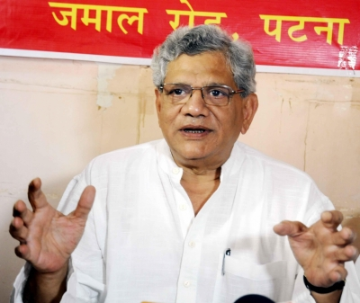 Yechury re-elected CPI-M General Secretary (Lead)