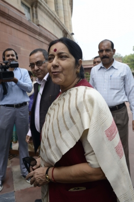 Sushma Swaraj shocked over Indian-origin man s killing in US