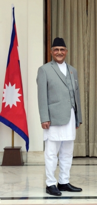 Nepal PM leaves for China visit