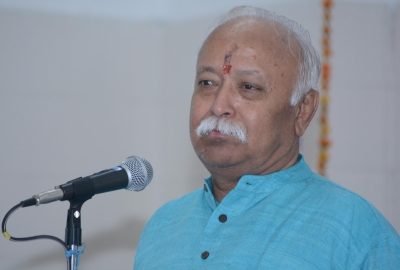 Bhagwat discusses J&K, economic situation with top intellectuals