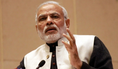 Modi says Aiyar insulted Gujarat by calling him  neech jaati