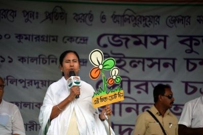 Trinamool Congress sweeps West Bengal civic body polls, BJP distant second