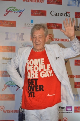 Ian McKellen wants  celebratory  funeral for himself
