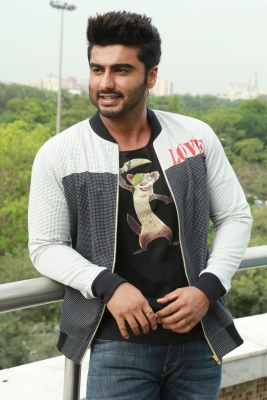 Arjun Kapoor finds it 'refreshing to be outdoors' to shoot a film