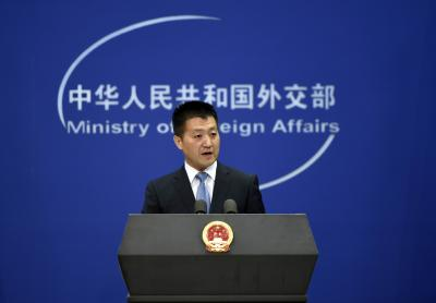 China lodges protest, asks India to withdraw troops (Lead)