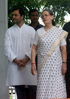 Sonia, Rahul appeal for peace in Haryana (Lead)
