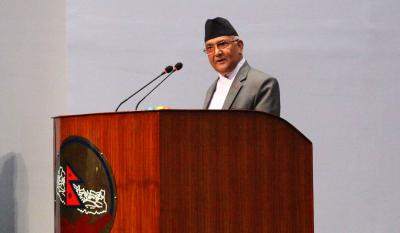 Oli to claim PM s post in Nepal