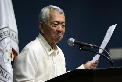 Philippines' former Foreign Secretary arrested