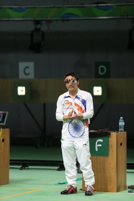 Jitu settles for Bronze in shooting World Cup
