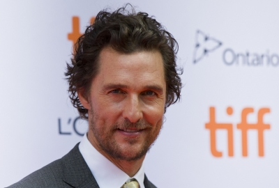 Matthew McConaughey plays virtual bingo with senior facility residents