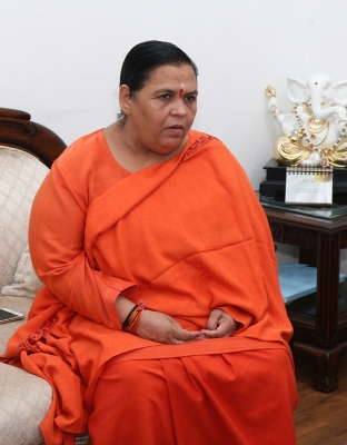 BJP will form government in Bengal with majority: Uma Bharti
