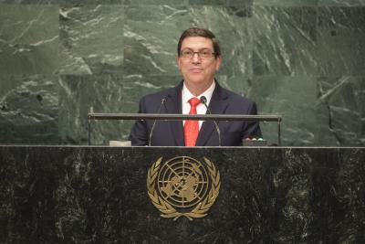 Cuba FM says not to negotiate with US under pressure
