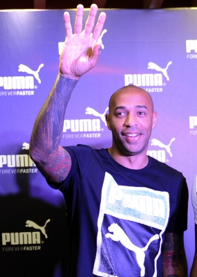 Thierry Henry presented as new Monaco coach