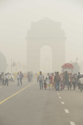 Delhi's air quality remains 'very poor' for fourth straight day