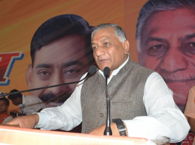 V.K Singh inaugurates 16 projects in Ghaziabad