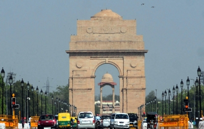 Sunny Wednesday morning in Delhi
